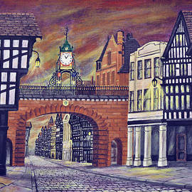 Ronald Haber - Eastgate Clock - Chester