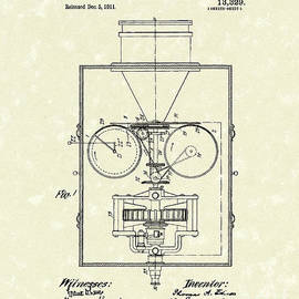 Prior Art Design - Edison Kinetoscope 1911 I Patent Art