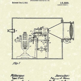 Prior Art Design - Edison Kinetoscope 1911 II Patent Art