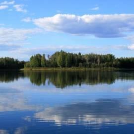 Sharon Mau - Enda Lechauhanne Reflections of Beauty Chena River Lakes Alaska