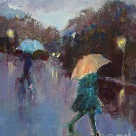Diane Ursin - Evening Rain