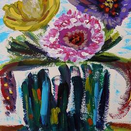 Mary Carol Williams - Exotic Bouquet in Bold Color