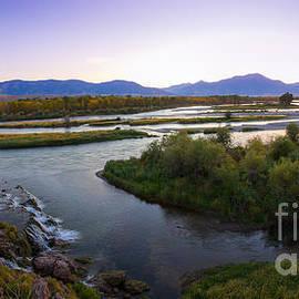 Idaho Scenic Images Linda Lantzy - Fall Creek Panorama