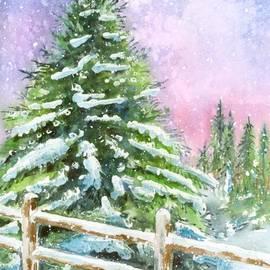 Arline Wagner - Falling Snowflakes