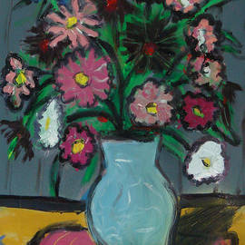 David Abse - Fauvist Flowers