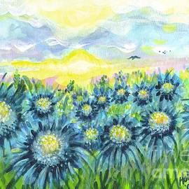 Holly Carmichael - Field of Blue Flowers