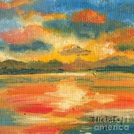 Julie Brugh Riffey - Fiery Sunset