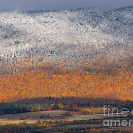 Francois Fournier - First Snow On Mount St-Joseph NDB Quebec Canada