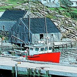 Kathleen Struckle - Fishing Village
