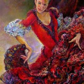 Sylva Zalmanson - Flamenco dancer 10