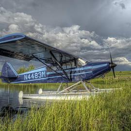 Thomas Payer - Float Plane Under a Stormy Sky