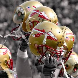 Mike Olivella - Florida State Football Helmets