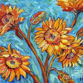 Jeanne Forsythe - Flowers for Van Gogh