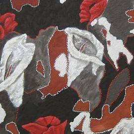 Susan McLean Gray - Flowers in the Bush