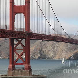 Wingsdomain Art and Photography - Fog At The San Francisco Golden Gate Bridge - 5D18899