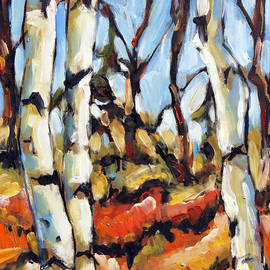 Richard T Pranke - Forest Edge by Prankearts