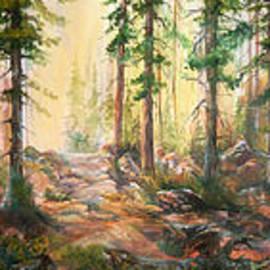 Sherry Shipley - Forest Light Triptych