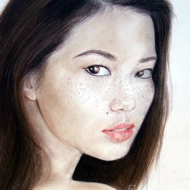 Jim Fitzpatrick - Freckle Faced Asian Model