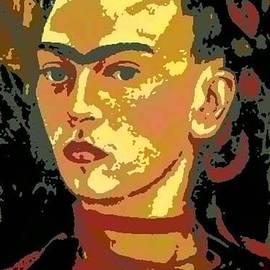 Angela L Walker - Frida Kahlo - Courage Personified