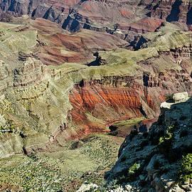 Bob and Nadine Johnston - From Yaki Point 6 Grand Canyon
