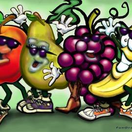 Kevin Middleton - Fruits