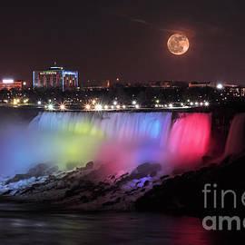 Charline Xia - Full Moon over Niagara