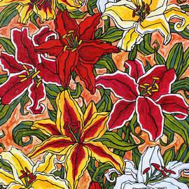 Tracy Levesque - Garden Lilies