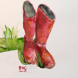 Becky Kim - Gardening Boots