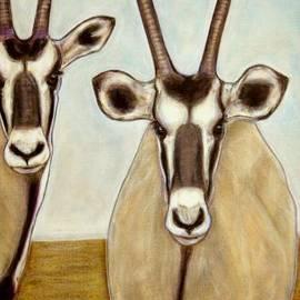 Isabelle Ehly - Gemsboks Oryxs Triptych 3
