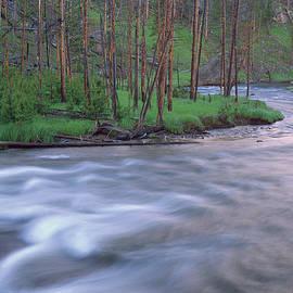 Tim Fitzharris - Gibbon River Rapids Yellowstone