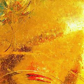 Regina Geoghan - Glassworks Series-Gold I