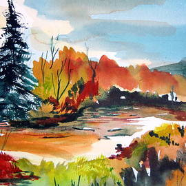 Mindy Newman - Glowing in Autumn