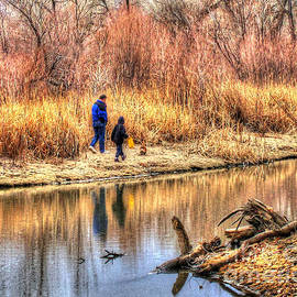 Morgan Wright - Going for a Walk HDR