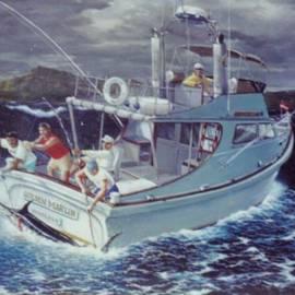 Leif Thor Kvammen - Golden Marlin-Kona Winds