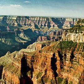 Bob and Nadine Johnston - Grand Canyon Angel Panorama