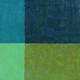Michelle Calkins - Green and Blue