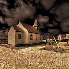 Jack Torcello - Grindavik Church Iceland - White Chocolate