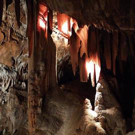 Colette V Hera  Guggenheim  - Grotte Magdaleine South France region Ardeche