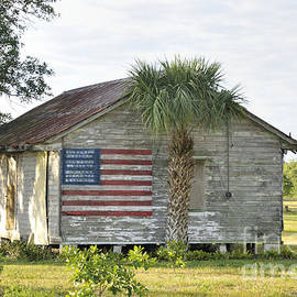 Bradford Martin - Grove Shack with flag