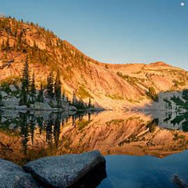 Leland D Howard - Harrison Lake Panoramic