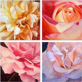 Jan Lawnikanis - Heart of a Rose Collage