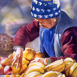 Sharon Freeman - Her Fruitstand