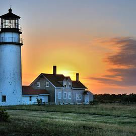 Thomas Schoeller - Highland Lighthouse - Sunset Burst