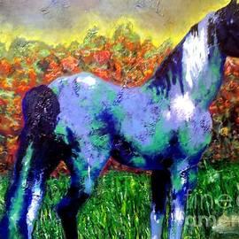 Crystal N Puckett - Horse Outside