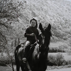 Colette V Hera  Guggenheim  - Horseriding in South France in the Sixtieth