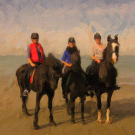 Nop Briex - Horses and riders and the North Sea