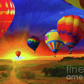 Jerry L Barrett - Hot Air Balloons