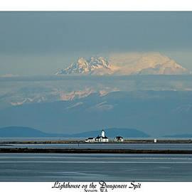 Marie Jamieson - Dungeness Spit Lighthouse - Mt. Baker - Washington