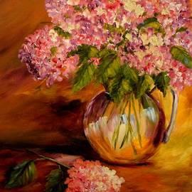 Barbara Pirkle - Hydrangeas from the Garden