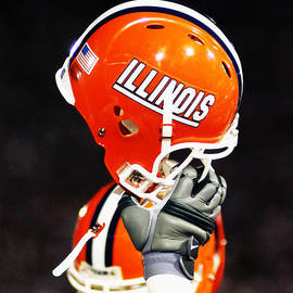 University of Illinois - Illinois Football Helmet